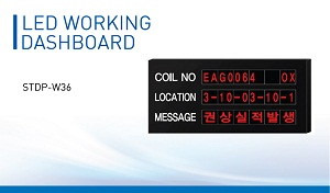 LED working dashboard